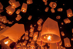 Yee Peng festival Stock Photos