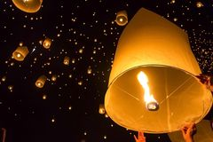 Yee Peng Festival Royalty Free Stock Image