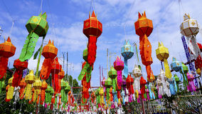 Yee Peng Festival New Year Fotografia Stock