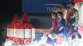 Yee Peng & Loi Krathong festiwale zbiory wideo