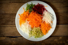 Yee Sang. chinese food Stock Photography