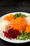 Yee Sang. chinese food Royalty Free Stock Photos
