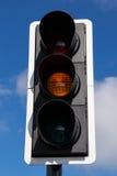 Yeelow latarnia uliczna. Fotografia Stock