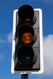 Yeelow street light. Stock Photography