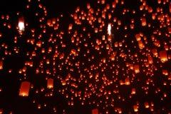 Yeepeng, Chiang Mai, festival de Tailandia Fotografía de archivo libre de regalías