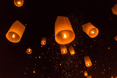 Yeepeng Lanna International Festival Lizenzfreies Stockbild