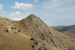 Yeghegnadzor Berge, Armenien Stockfotografie