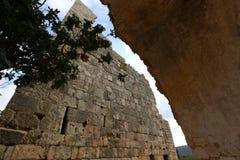 Yeghiam堡垒是烈士时代的城堡 库存图片