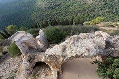 Yeghiam堡垒是烈士时代的城堡 图库摄影