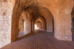 Yehiam forteca, Izrael Obraz Royalty Free