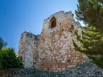 Yehiam forteca, Izrael Fotografia Stock