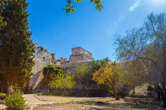 The Yehiam Fortress, Israel Stock Photo