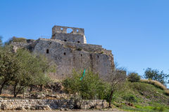 The Yehiam Fortress, Israel Royalty Free Stock Photo