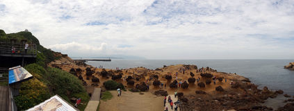Yehliu chez Wanli nouveau Taïpeh de Taïwan Photo libre de droits