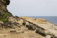 Yehliu coastal area Royalty Free Stock Photography