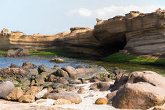 Yehliu Geological Park Royalty Free Stock Photography