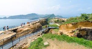 Yehliu Geopark, Тайвань Стоковые Изображения
