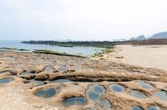 Yehliu Geopark, Тайвань Стоковые Фотографии RF