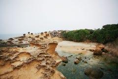 Yehliu Geopark royalty-vrije stock afbeelding