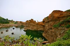 Yehliu Geopark стоковое изображение rf