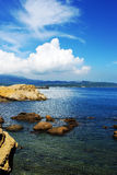 Yehliu geopark. View in yehliu geopark,taiwan,china Stock Photography