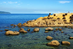 Yehliu geopark Royalty Free Stock Photo