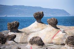 Yehliu Geopark image libre de droits