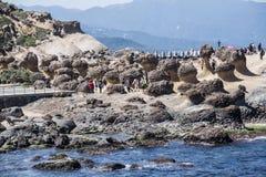 Yehliu Geopark Imágenes de archivo libres de regalías