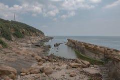 Yehliu Geopark Стоковые Фото