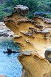 Yehliu geopark i Taiwan Royaltyfri Fotografi