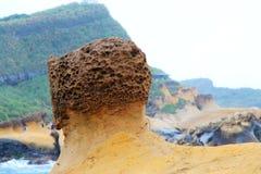 Yehliu-geopark in Taiwan Stockbild