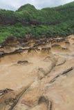 Yehliu geopark in Taiwan Royalty-vrije Stock Afbeelding