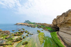 Yehliu Geopark, Taiwan. Royalty Free Stock Photography