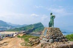 Yehliu Geopark, Taiwan. Stock Image
