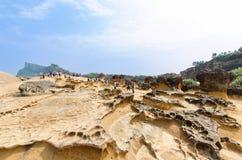 Yehliu Geopark, Taiwan Royalty Free Stock Photos
