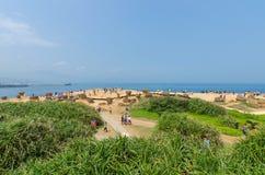 Yehliu Geopark, Taiwan Royalty Free Stock Photo