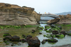Yehliu Geopark in Taiwan Royalty Free Stock Photos