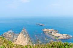 Yehliu Geopark, Taiwan. Stock Photography