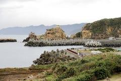Yehliu geopark w Tajwan Obraz Royalty Free