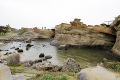 Yehliu geopark w Tajwan Fotografia Royalty Free