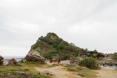 Yehliu geopark w Tajwan zdjęcia stock