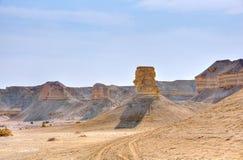沙漠以色列yehuda 免版税库存照片