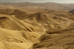 Yehuda desert Royalty Free Stock Image