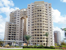 Or Yehuda Neve Rabin residential houses 2010 Royalty Free Stock Photo