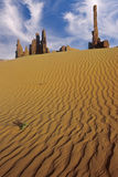 Yeibichei Rocks and Desert Sands Royalty Free Stock Images