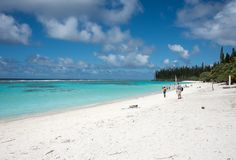 Yejele Beach, New Caledonia Royalty Free Stock Photography