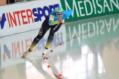 Yekaterina Aydova - speed skating Royalty Free Stock Image