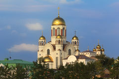Yekaterinburg, Cathedral on the Blood Stock Photography