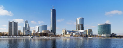 Yekaterinburg city panorama Royalty Free Stock Photography