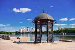 Yekaterinburg cityscape Royalty Free Stock Image